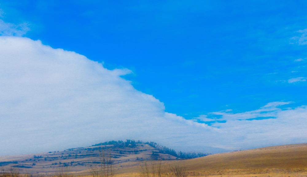 Photo in Nature #blue #sky #land #over