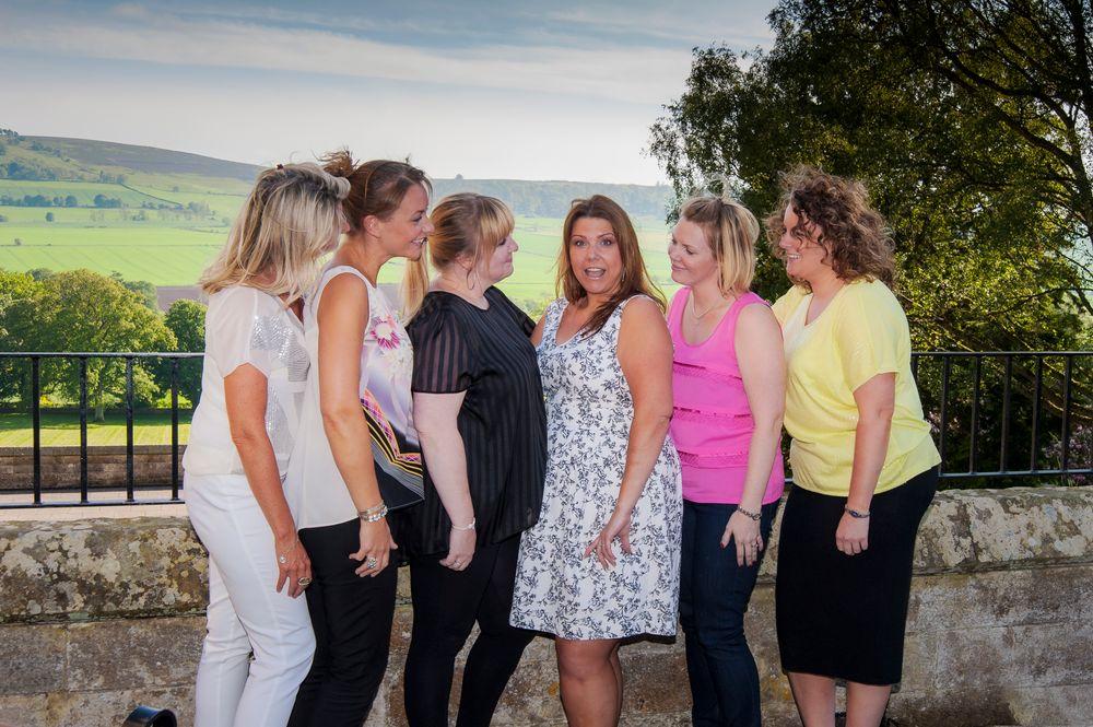 Photo in Wedding #kinnettles castle #wedding #women
