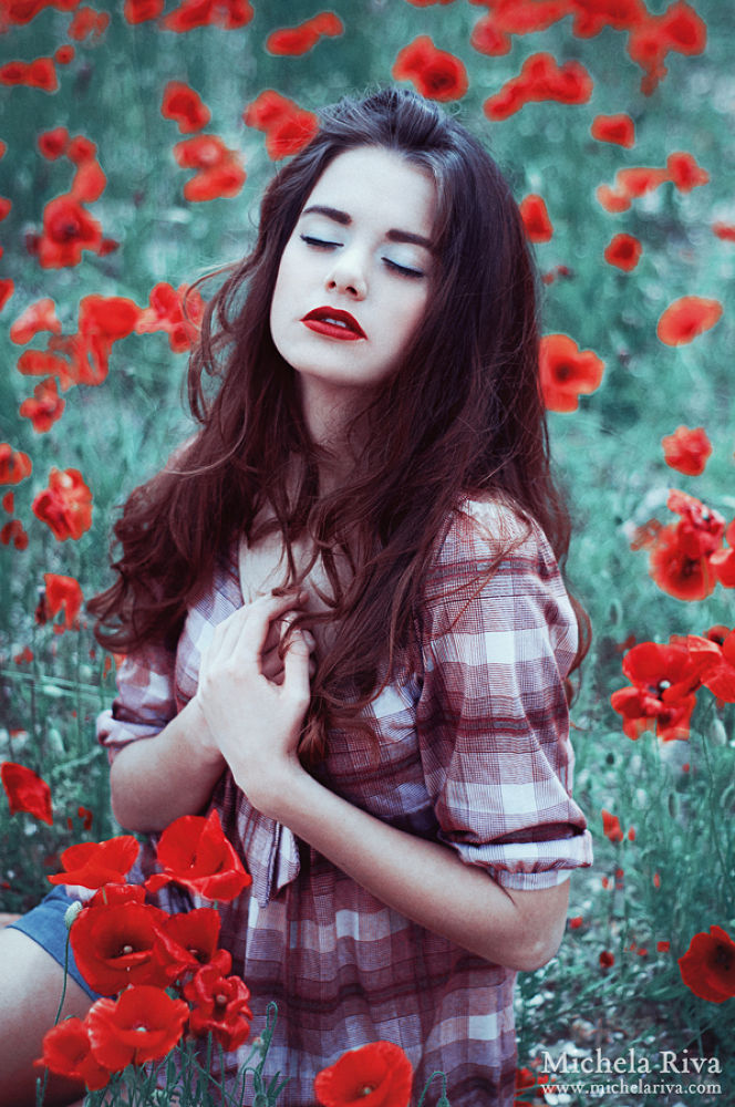 Photo in Fashion #ypa2013 #fashion #editorial #poppy #red #beauty #model #dream #dreaming #fairy tale