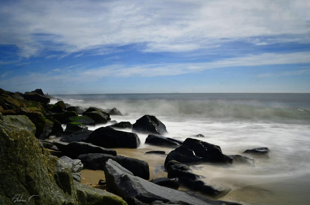 Photo in Sea and Sand #beach #atlantic #ocean #landscape #seascape #nature