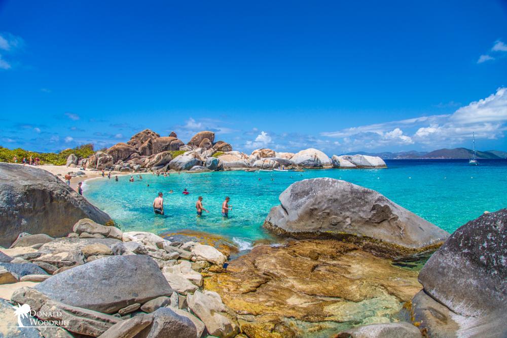 Photo in Travel #beach #water #rocks #tortola. bvi