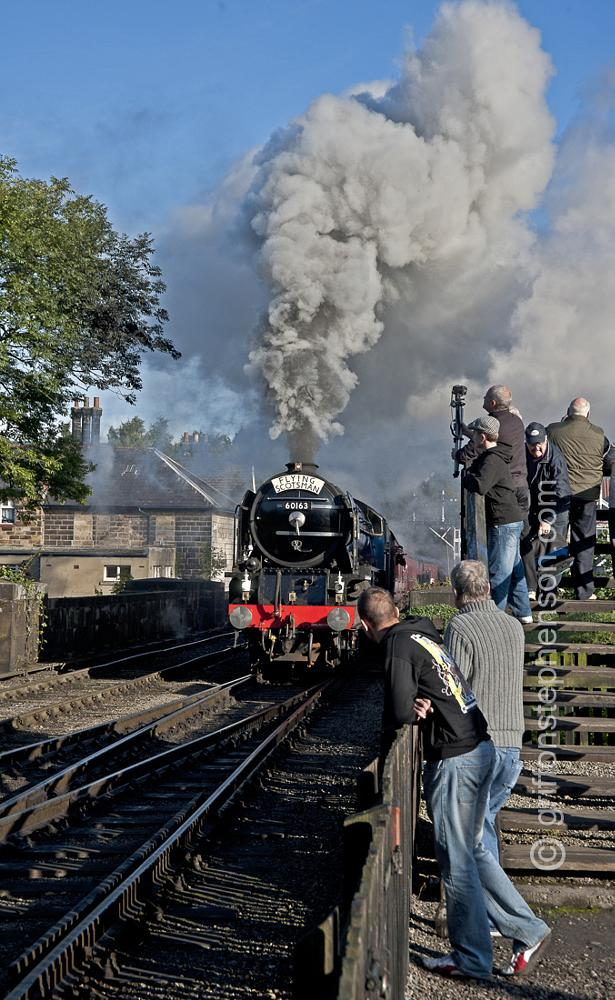 Photo in People #steam trains #yorkshire moors #tourism #people #history