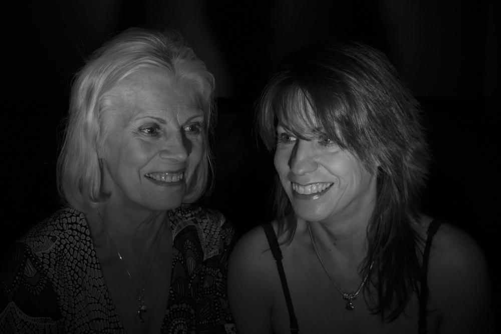 Photo in Family #mother #daughter #black and white #flash grid
