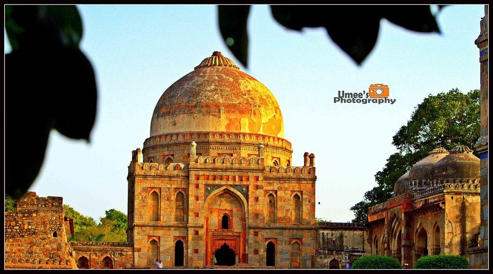 Photo in Random #garden #tomb #mosque #new delhi #delhi #masjid #lodi garden