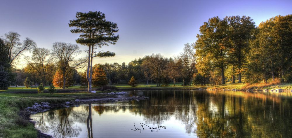 Photo in Landscape #random #hdri #sunset #lake
