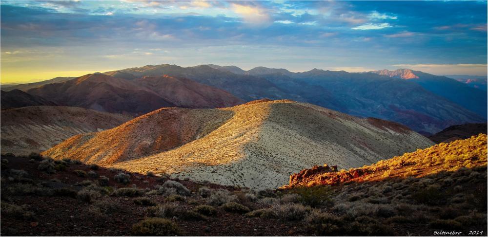 Photo in Landscape #death valley #sunrise #desertic #dante's view