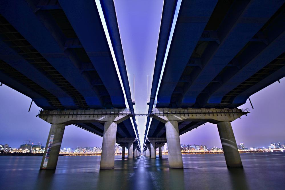 Photo in Landscape #river #bridge #light