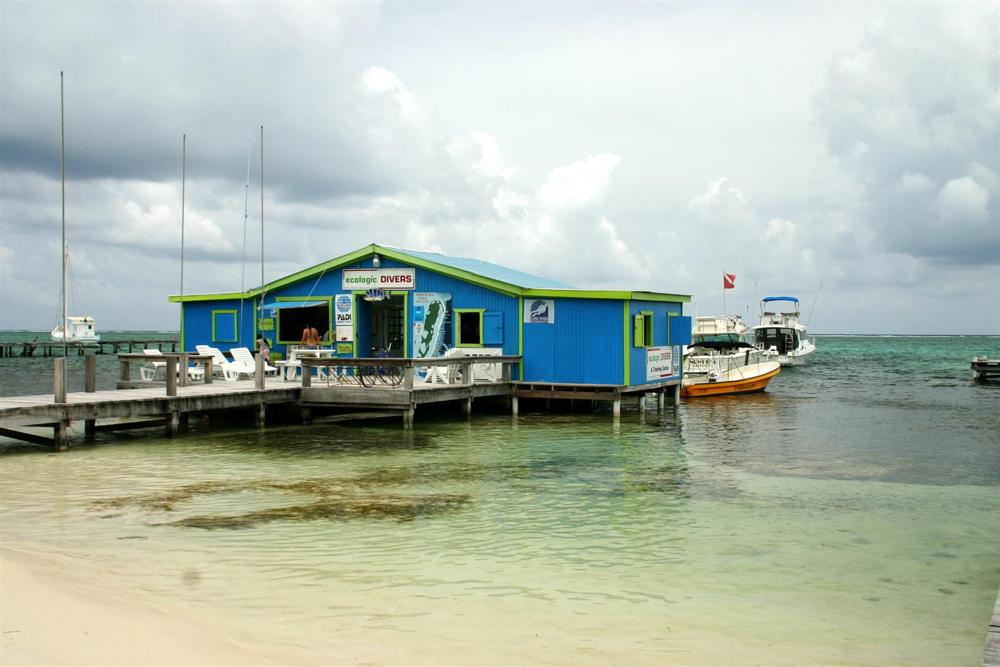 Photo in Travel #belize #san pedro #ambergris caye #fishing dock