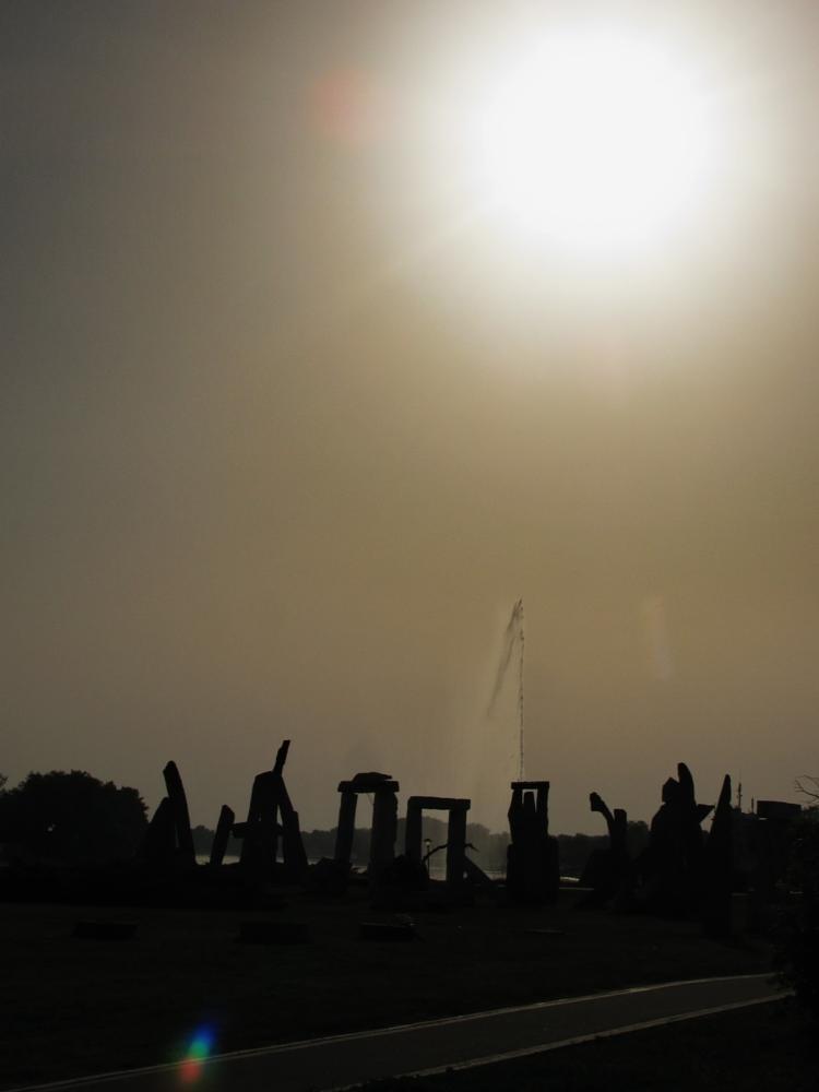 Photo in Nature #stones #geyser #sepia #beograd #belgrade #serbia #srbija #sun
