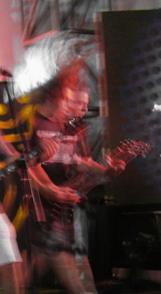 Photo in Concert #live #concert #guitar #guitarist #player #eyesburn #lale