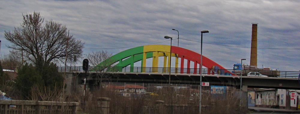 Photo in Architecture #bridge #reggae #rasta #architecture