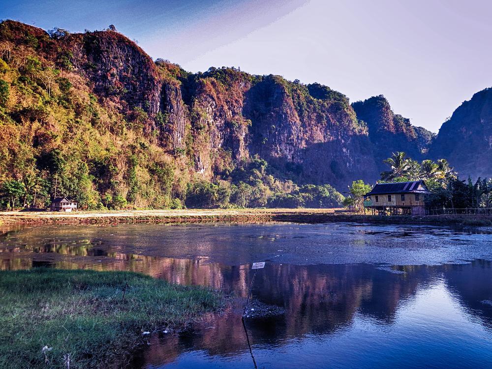 Photo in Landscape #bestof2014 #landscape #blue hour #morning #karst