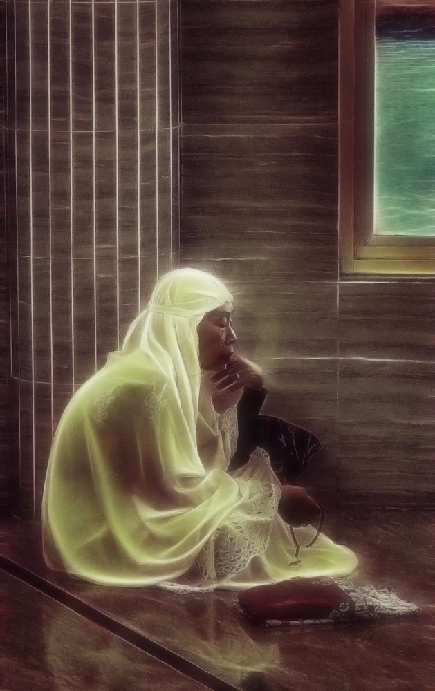Photo in Portrait #people #profile #islam #pray #portrait