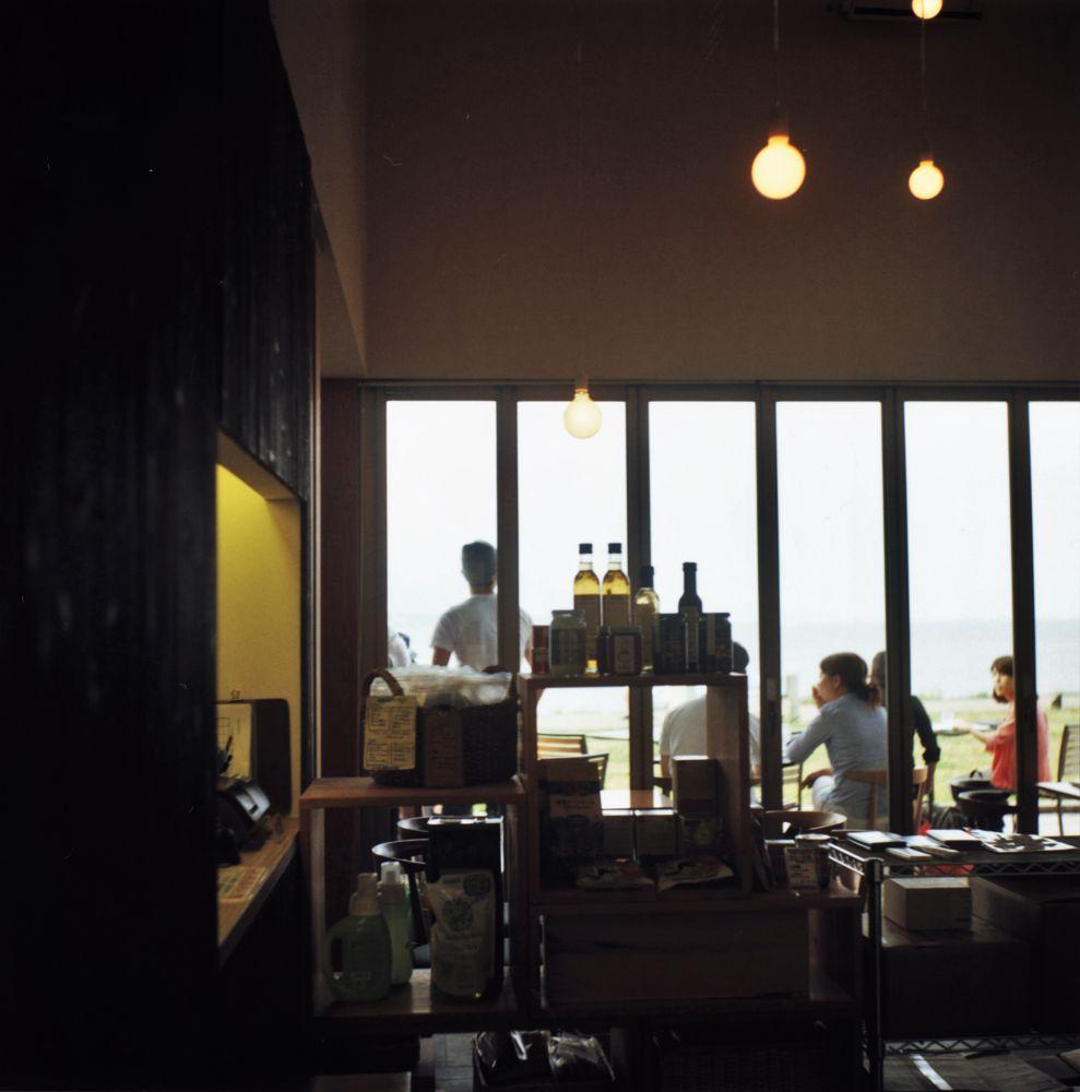 Photo in Film #view terrace #view #terrace #rollei #rolleicord #film #biwa #carl zeiss jena #triotar #twin-lens reflex
