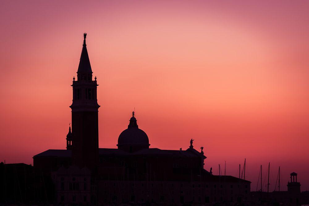 Photo in Cityscape #sunset #venezia #italy