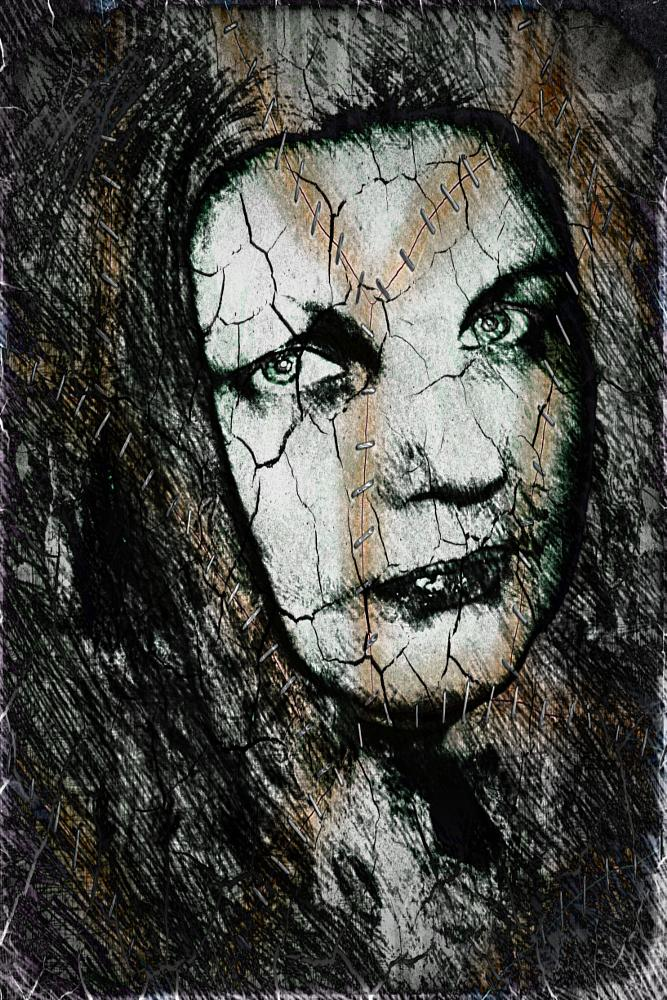 Photo in People #art #story #battered #broken #scars #surgery #clay #depression #lost #hit #abused #verbal #outcast #bruised