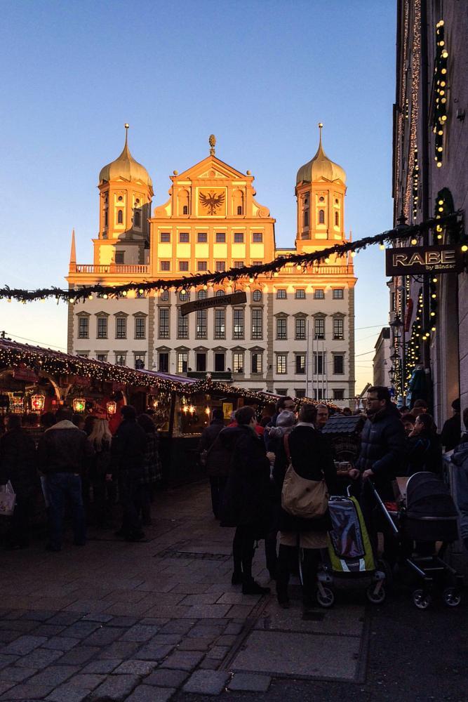 Photo in Street Photography #weihnachtsmarkt #augsburg