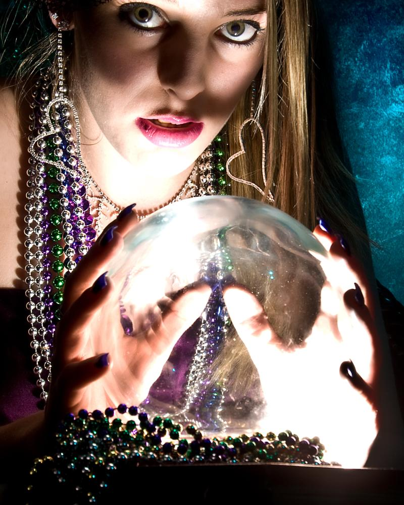 Photo in Fine Art #woman #fortune teller #blond #mystic #occult #soothsayer