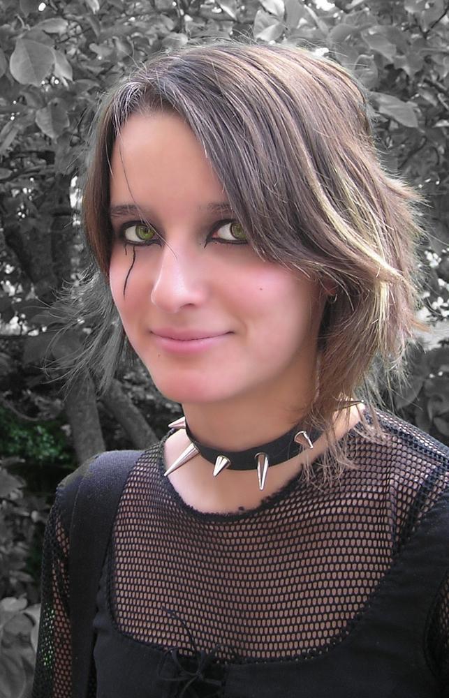 Photo in Portrait #girl #eye #teen #gothic #desaturation