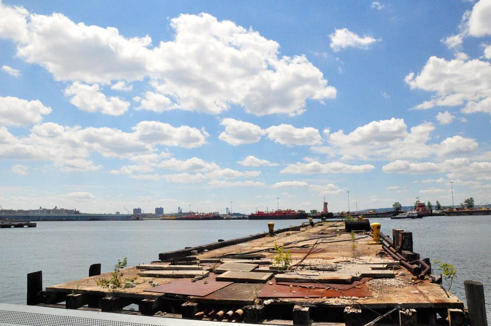Photo in Random #pier #red hook brooklyn #sea scape