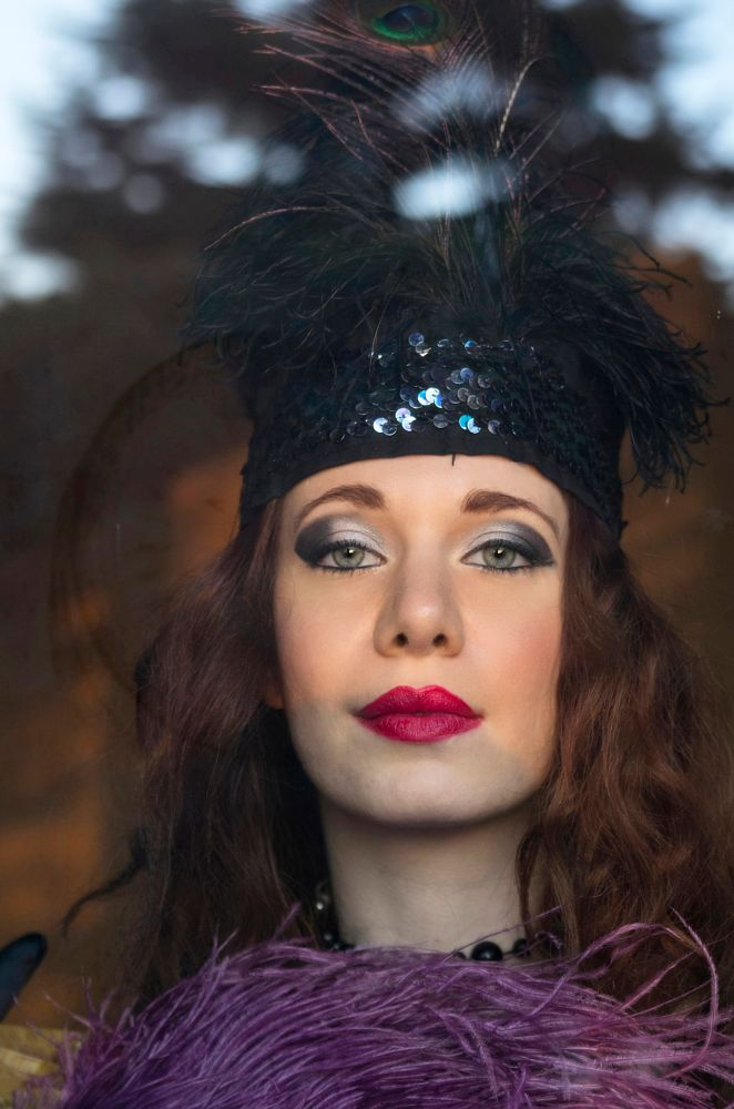 Photo in Portrait #belle epoque #donna #woman #pentax #model #modella