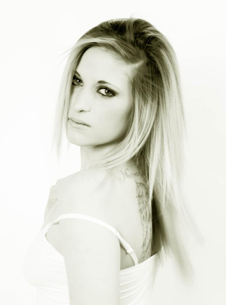 Photo in Black and White #beautiful #girl #hot #sexy #model #female #black and white #b&w #photography