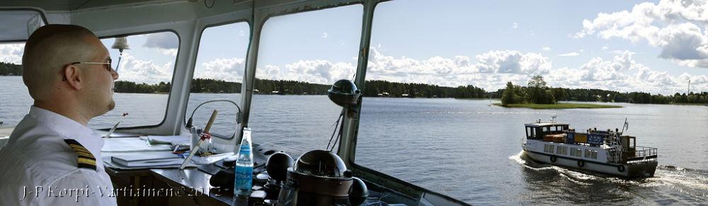 Photo in Random #summer #cruise #kuopio #lake kallavesi #northern savonia #pohjois-savo #captain