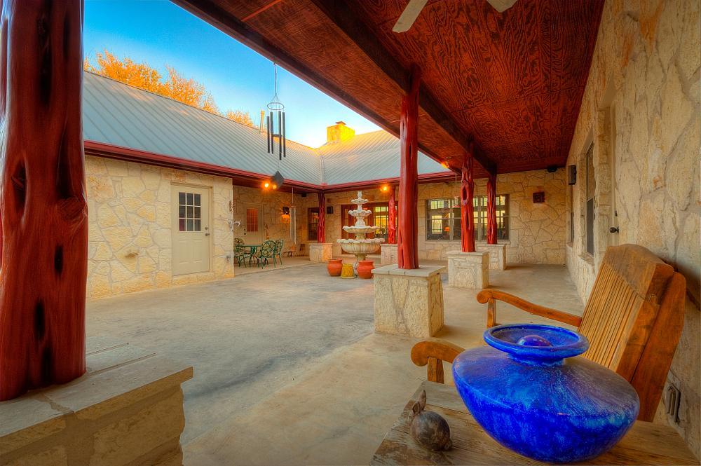 Photo in Architecture #real estate #austin tx #tx #texas #courtyard #snap monkey photography #dustin white #ranch