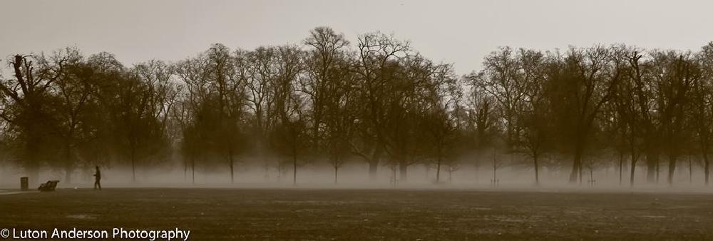 Photo in Random #fog london #london #fog #hyde park #luton anderson photography