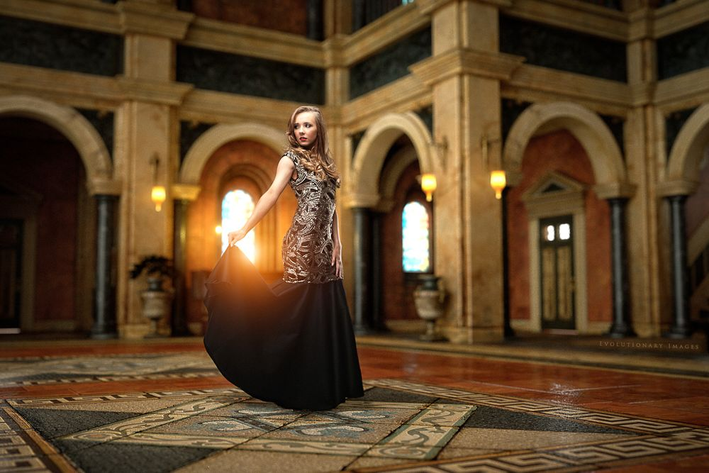 Photo in Fashion #model #cgi #composite #fashion #beauty #hall