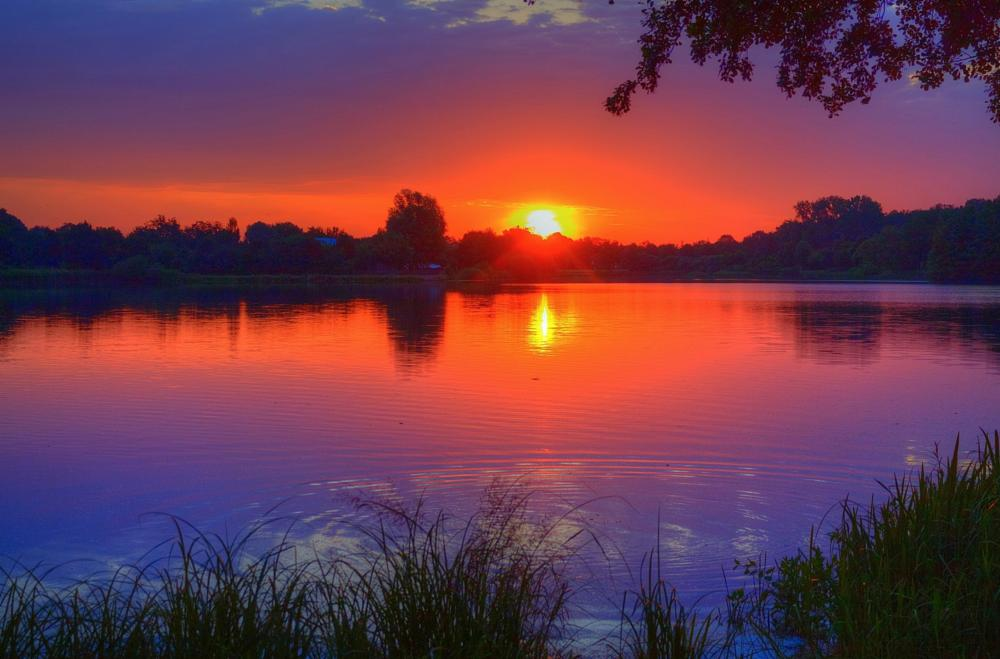 Photo in Nature #dannenberg #thielenburger see #lower saxony #germany #sunrise #lake #reflection #water #niedersachsen #lüchow-dannenberg #wendland #sonnenaufgang #see #spiegelung #wasser #maik richter #metal maik #2013 #canon #eos 1100d