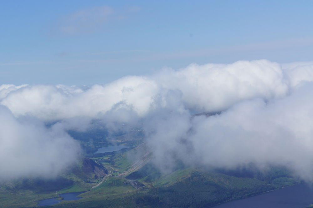 Photo in Landscape #above the clouds #wales #snowdon #mountain #snowdonia #3 peaks #amazing