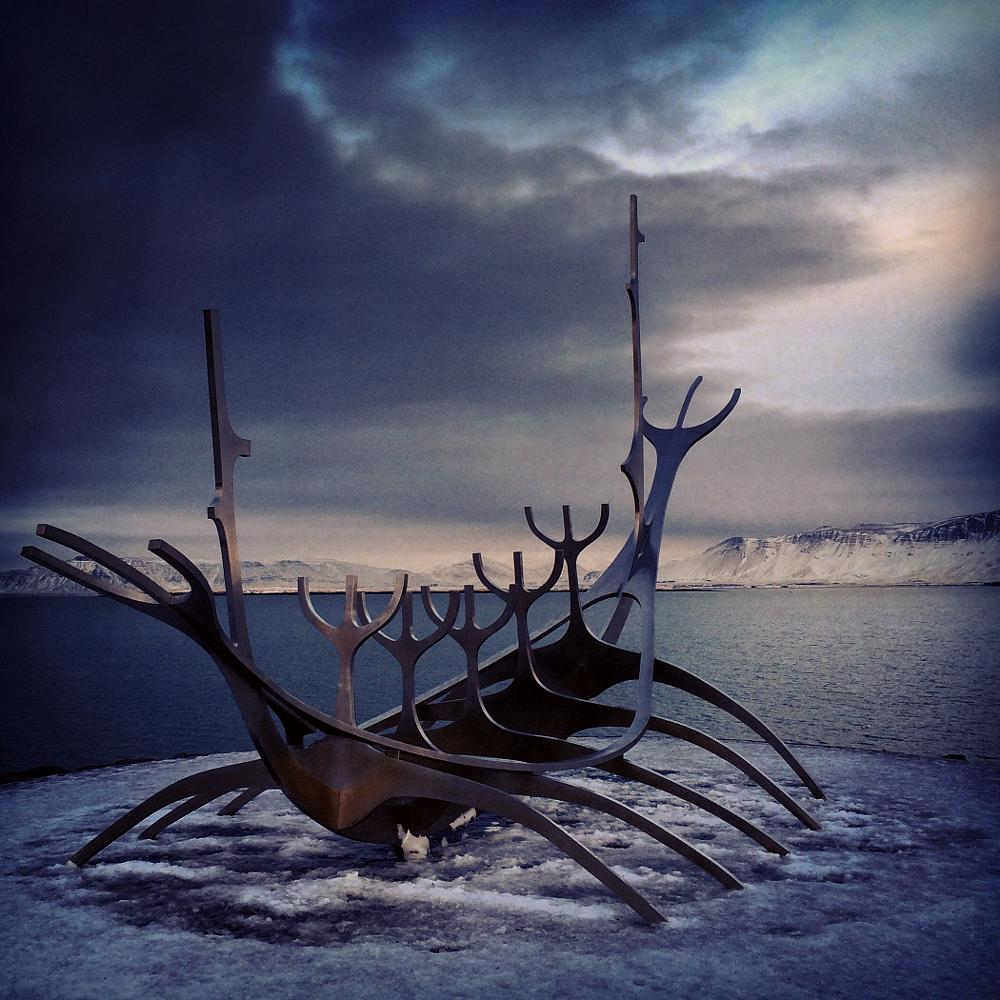 Photo in Fine Art #sun voyeger #reykjavik #iceland #art installation #street photography #cityscape