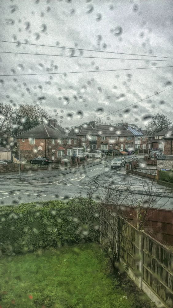 Photo in Urban #rain #liverpool #city #sunday #view #window