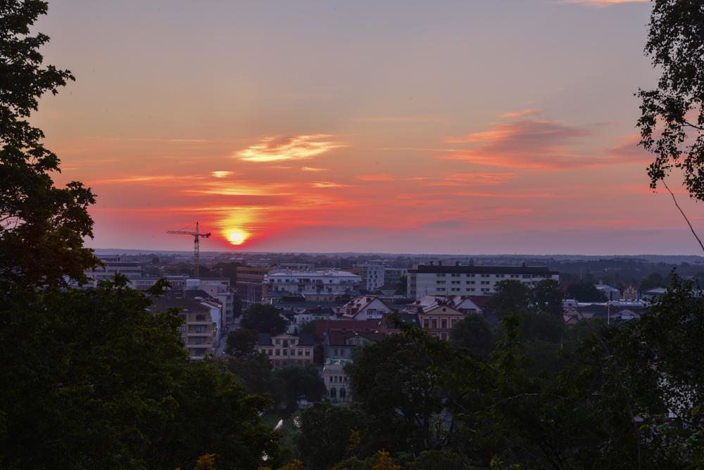 Photo in Random #uppsala #sweden #sunrise