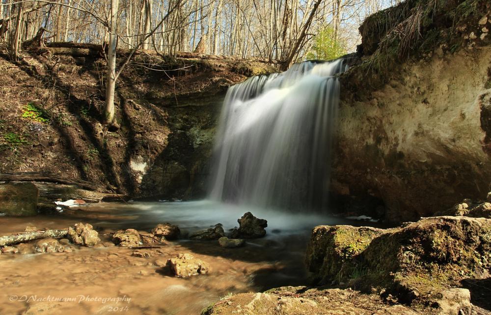 Photo in Random #waterfall #dauda #river #dauda`s fall #sigulda #forest #spring