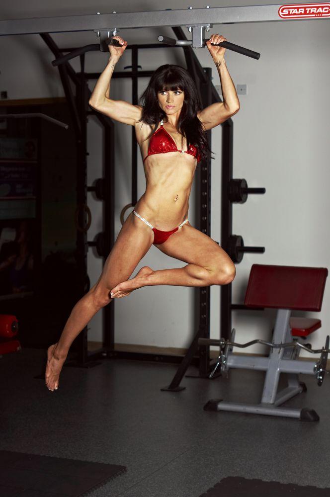 Photo in Sports #sport #gym #workout #muscle #woman #beauty #bikini