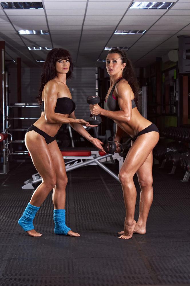 Photo in Sports #gym #sport #models #women #muscles