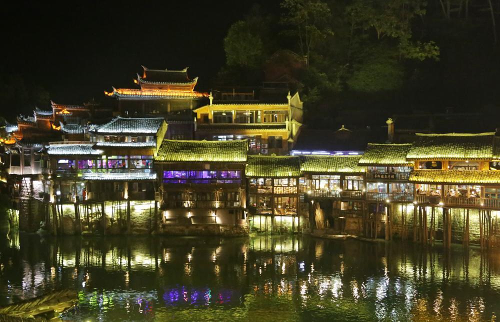 Photo in Cityscape #鳳凰古城 #china #phoenix city #hunan
