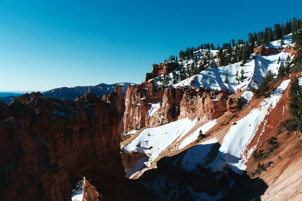 Photo in Nature #bryce canyon #canyon snow #national park