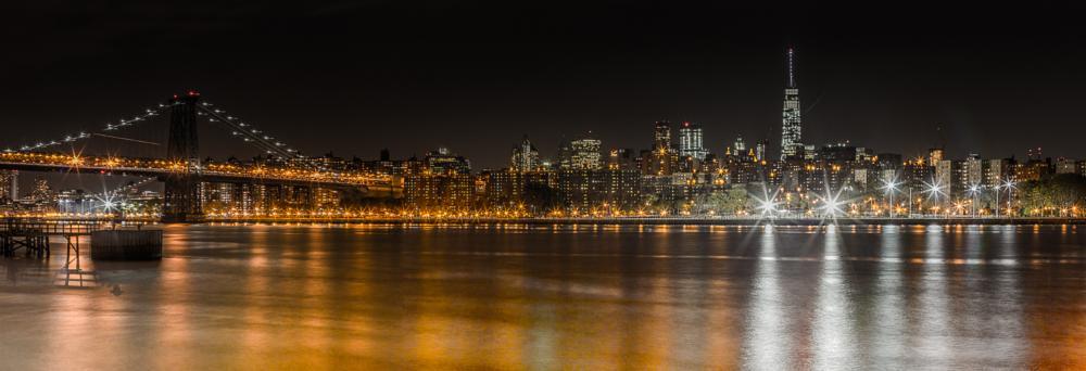 Photo in Cityscape #new york #skyline #nightshot #manhattan