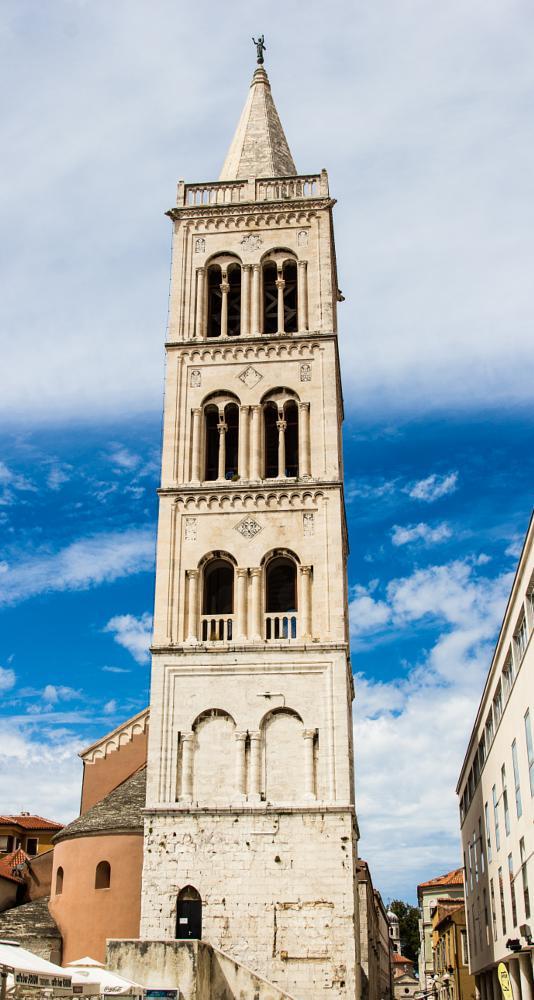 Photo in Architecture #zadar #coratia #church #summer #blue #sky