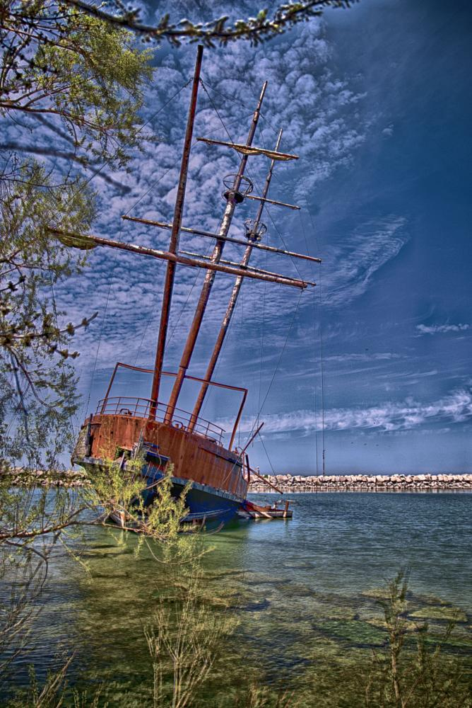 Photo in HDRI #ship #boat #hdr #toronto #canada