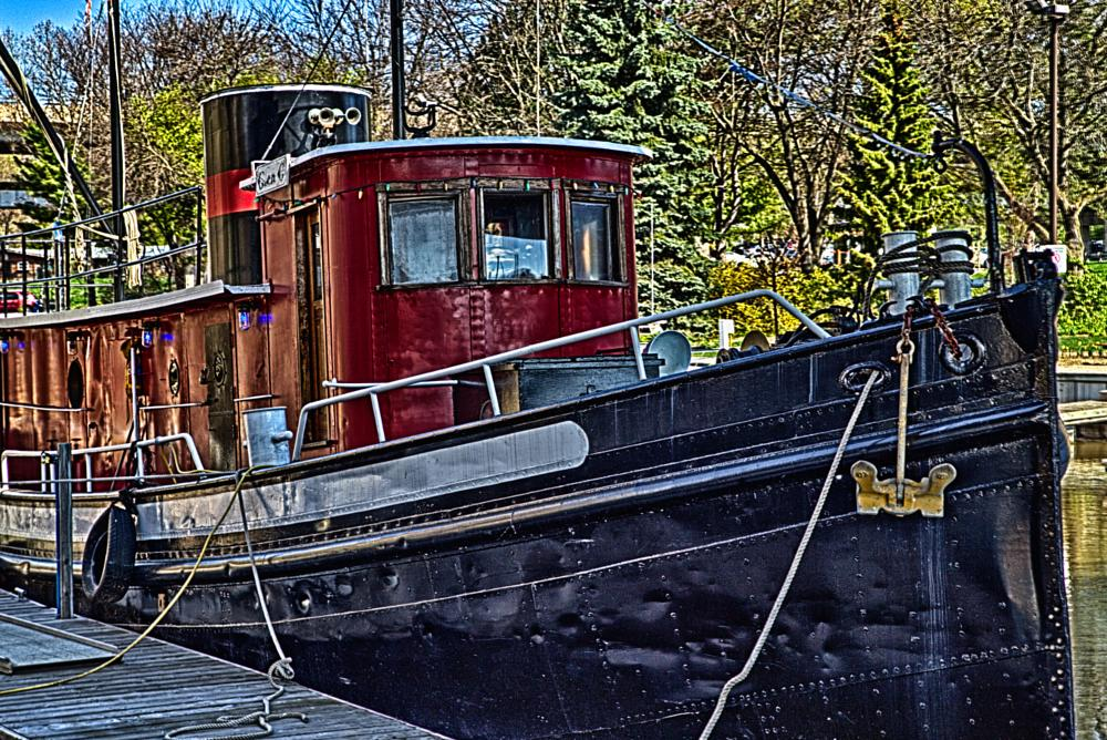 Photo in HDRI #hdr #toronto #canada #ship #boat