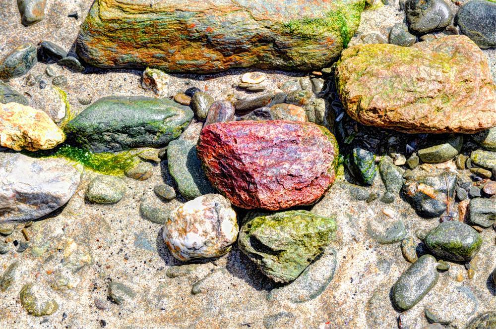 Photo in HDRI #sea and sand #hdr #closeup