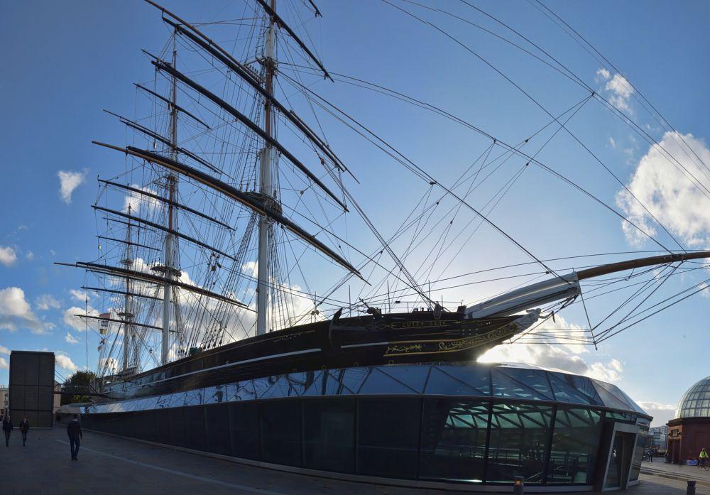 Photo in Random #panorama #cutty sark #ship