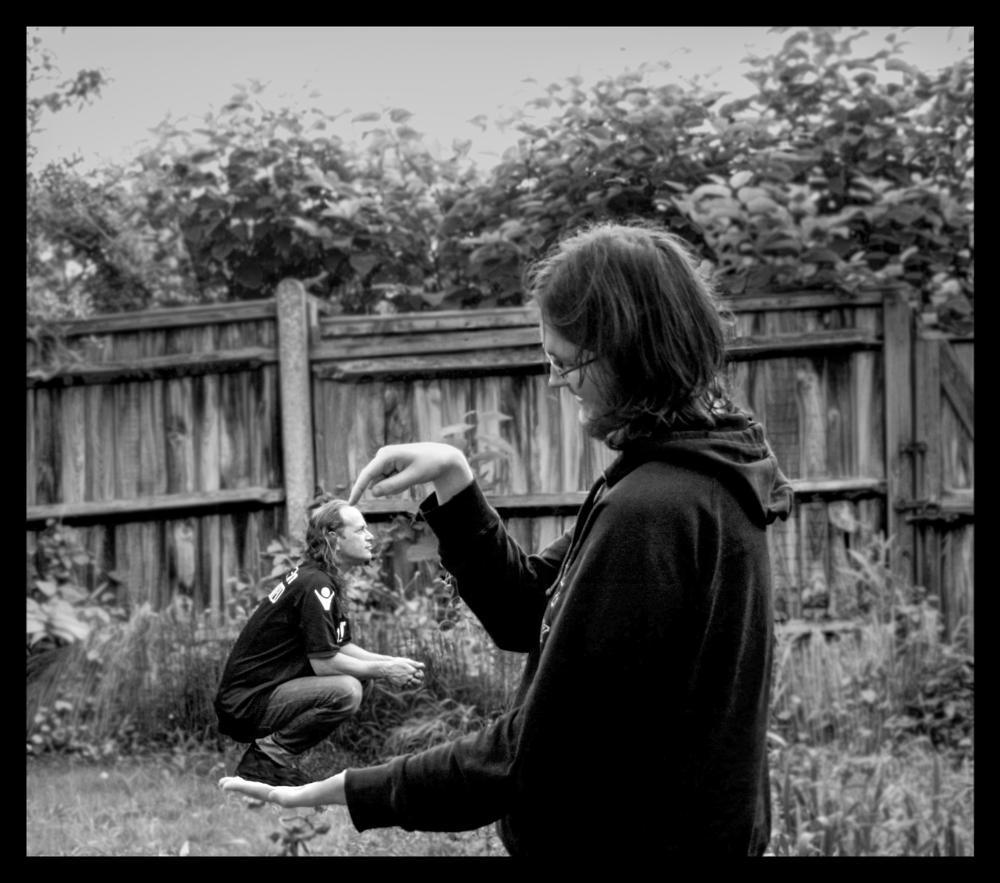 Photo in Black and White #perspective #small #mono