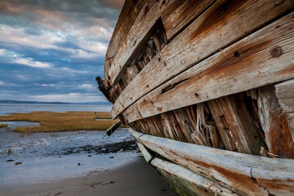 Photo in Landscape #landscape #nature #autumn #wreck #quebec #stéphane david