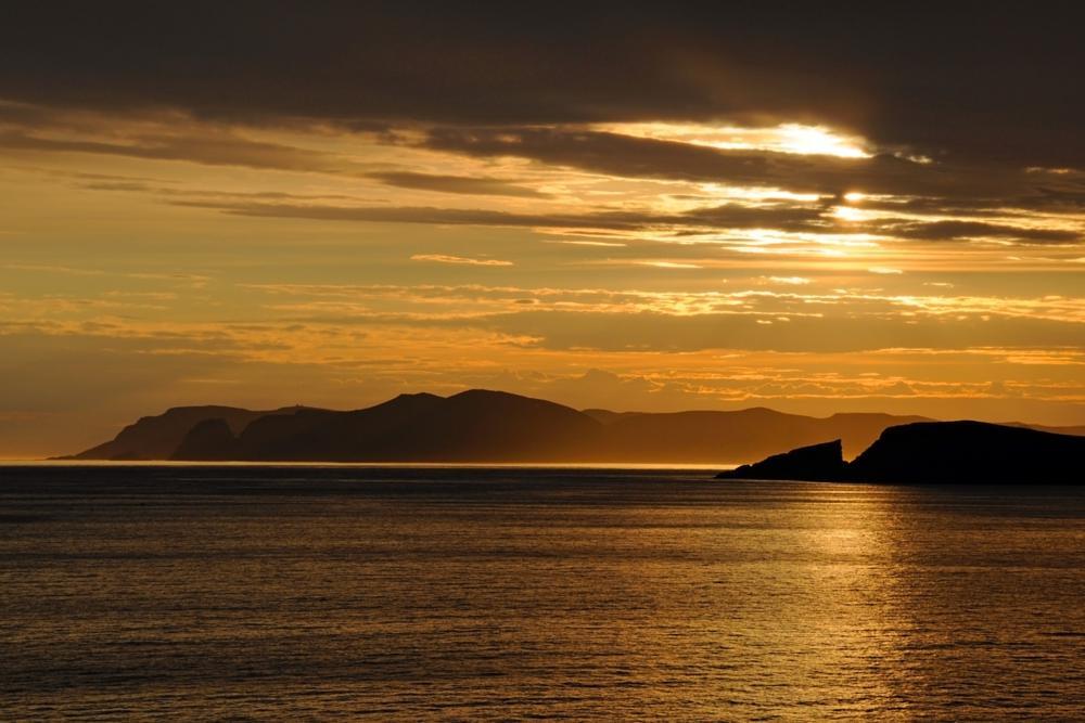 Photo in Landscape #midnight sun #sørøya #norway