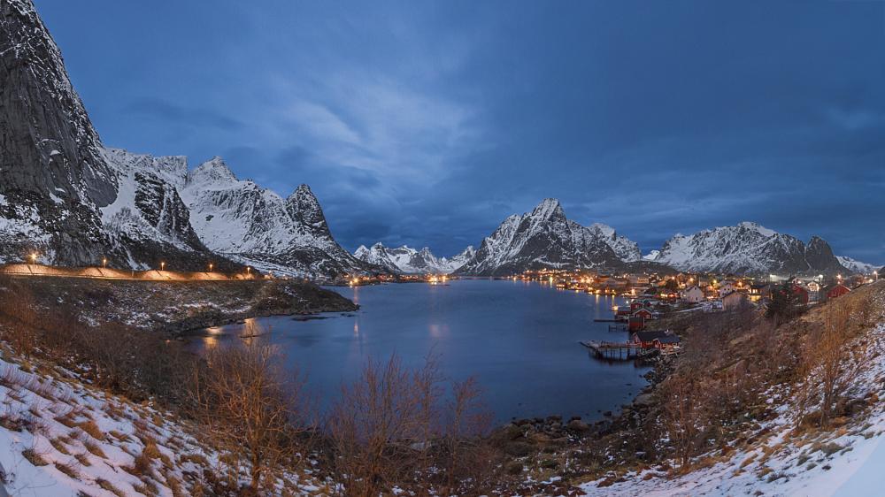 Photo in Landscape #norway #lofoten #canon #reine #landscape #nature #norge #rorbuer